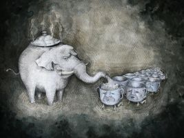 elephant teapot by LUMINIS93