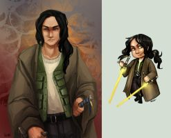 Comish - OC - Starwars by oneoftwo