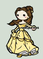 Disney Princess: Belle by NickyToons