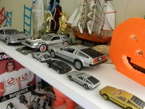 My DeLorean collection 1 by Olimar666