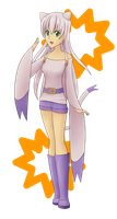 Gijinka: Mienshao by Apricotil