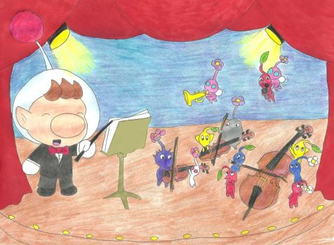 Assemble the tiny musicians by OutThereOtaku