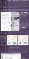 PS7 Anime Colouring Tutorial by misheru