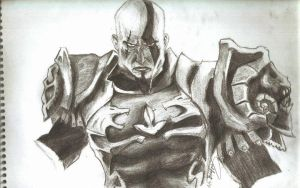 kratos by neilserias