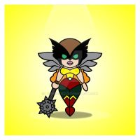 Hawkgirl by Tooniefied