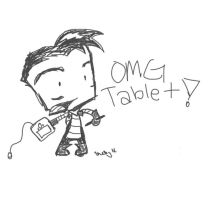 Zimmeh and a Tablet by IZNMBCgirl