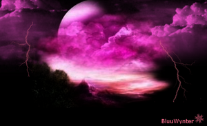 Pink Thunder Clouds Room (FREE) by BluuWynter