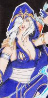 League of legend Ashe by anays555