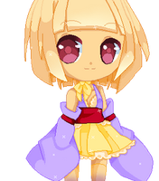 Utopia - Ama, Pixel Chibi by Angel-chuu