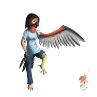 Nolhyaa TalonFlame transformation (gift)