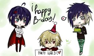 Happy B-Day by farfornever
