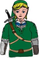 quick zelda drawing by james3