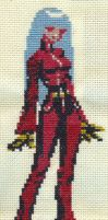 X-Stitch Fanart- Kula Diamond by missy-tannenbaum