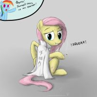 Fluttershy s squeak by rule1of1coldfire