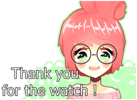 Thanks for the watch PNG by AmjeAmjeAmje