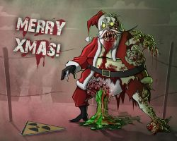 Infected Santa by Sodano