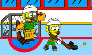 Little Hockey Players by MarioSimpson1