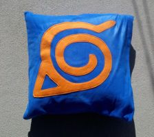 Naruto Leaf Village Pillow by TheHarley