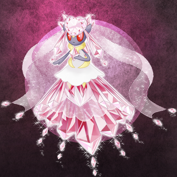 Mega Diancie by Cryophase