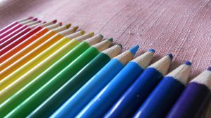 Rainbow Pencilcrayons 2 by 13LuckKy