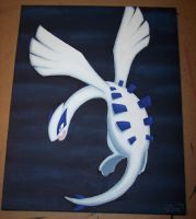 Lugia painting by Zenity