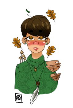Forest Witch! Kyungsoo by MoonBallo0on