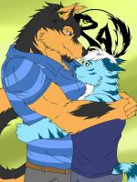 Brotherly bond 2 by icelucario