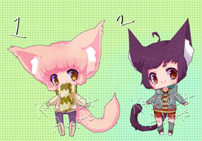 New Style Adopts (CLOSED) by Kariosa-Adopts