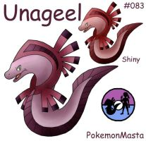 Unageel 083 by PokemonMasta