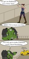 Little Transformers Prime Comic by EricMHE