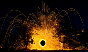 Black Hole Fountain by Burning2Sleep