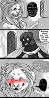 unfinished comic by Eelea