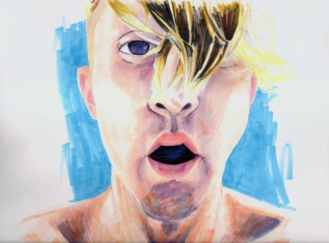 Portrait of Josh by Lasrin