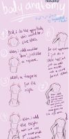 Body Anatomy Tutorial (sketches) by HayleyFeatRuki