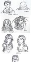 Homunculi sketches by lauu7