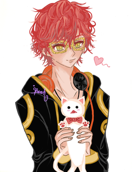 Mystic Messenger: 707 by she-be