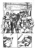 Snake Eyes 13 preview page by RobertAtkins