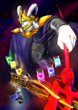Undertale - Asgore fight by yuhhei4666