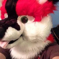 Thunder Fursuit Head [Complete] Left View by Thundahcrackah