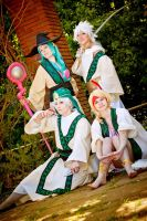 Magi the Labyrinth of Magic: All Together by Sweet-Donut