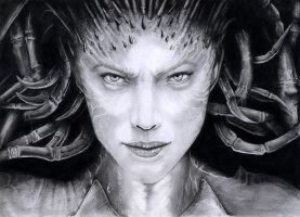 Sarah Kerrigan by BluePaintArt