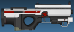 Red Star Compact Rifle by Sharkour