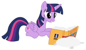 Twilight enjoys Order of the Phoenix by BB-K