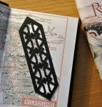 Thorin's Pattern Bookmark by vigshane