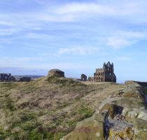 whitby abbey by frogslave69