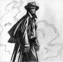 Darkman Pencil by Newbeing