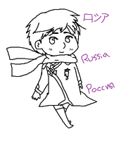 FiveMinuteSketch: Russia by Field-Of-Roses