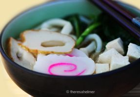 Udon Soup by theresahelmer