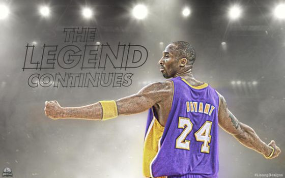 The Legend Continues by lisong24kobe