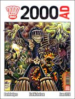 Dark Judges - 2000AD Sketch Cover by Kat-Nicholson